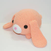 Lulu the baby bunny by Heartstringcrochet