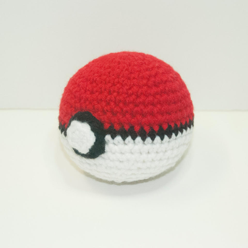 Amigurumi Master Ball : Crochet Pokeball by Heartstringcrochet on DeviantArt