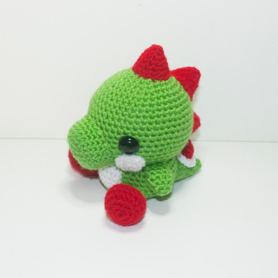 Yoshi by Heartstringcrochet