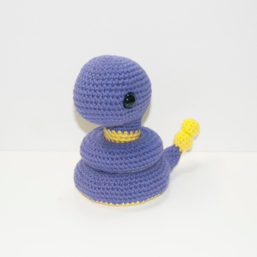 Ekans by Heartstringcrochet on DeviantArt