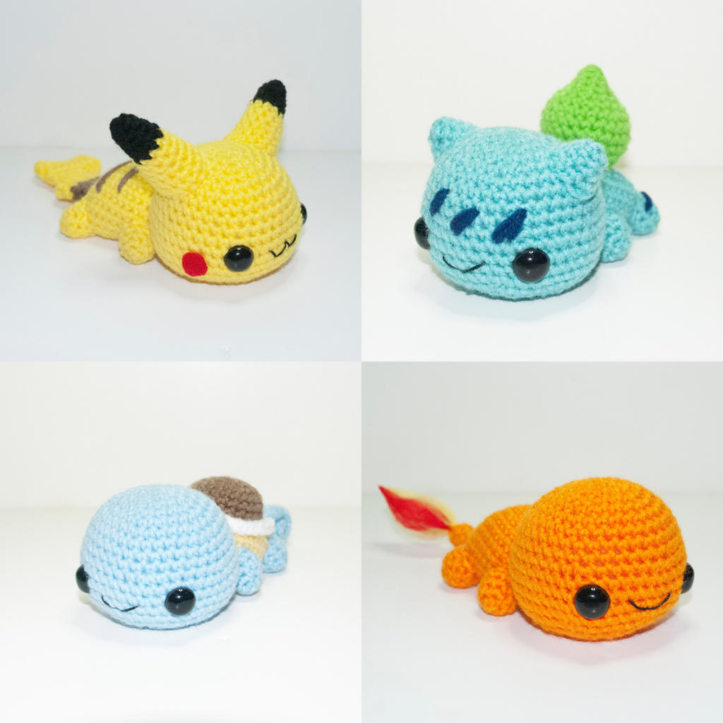 Amigurumi Pokemon Instructions : Laying Pokemon by Heartstringcrochet on DeviantArt