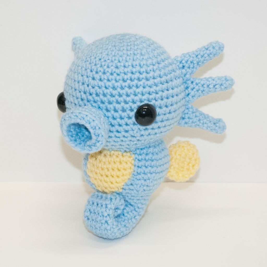 Crochet Patterns Pokemon Characters : Horsea by Heartstringcrochet on DeviantArt