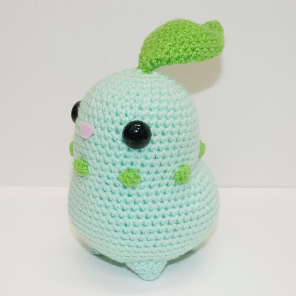 Crochet patterns favourites by horngoddess on deviantart tinyowlknits 522 77 chikorita by heartstringcrochet bankloansurffo Choice Image