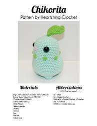Chikorita Pattern by Heartstringcrochet