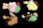 Icecream Cats Adoptables Batch 1