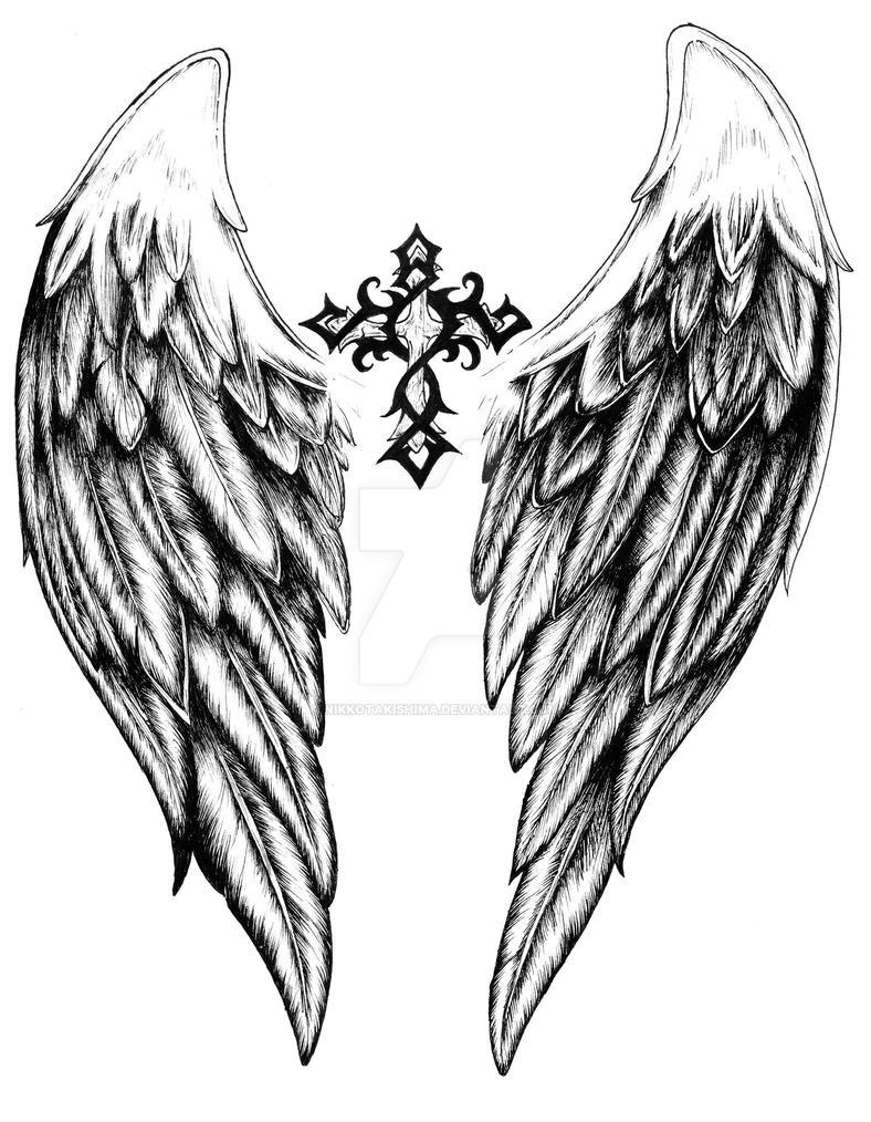 Small Angel Tattoo Designs