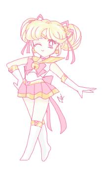 Sailor Chime - Chibi Form by NikkoTakishima