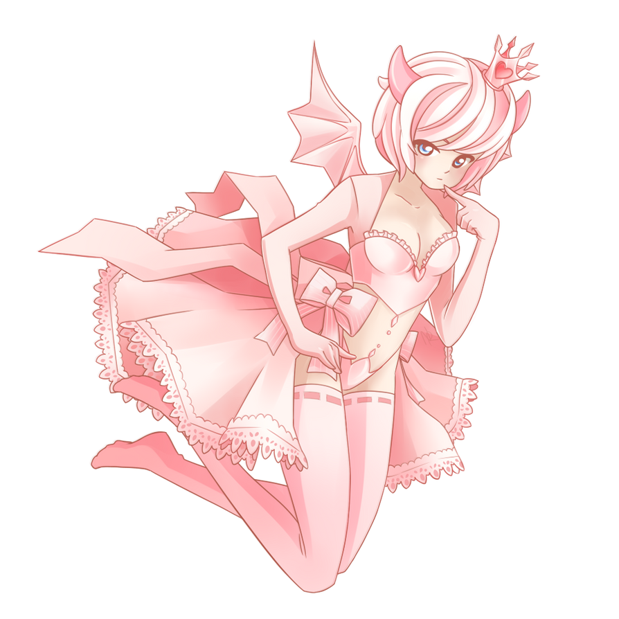 Gaia: Pink Demon by NikkoTakishima