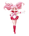 Reverse Sailor Chibi Moon {Crystal}