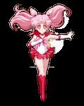 Reverse Sailor Chibi Moon {Crystal} by NikkoTakishima