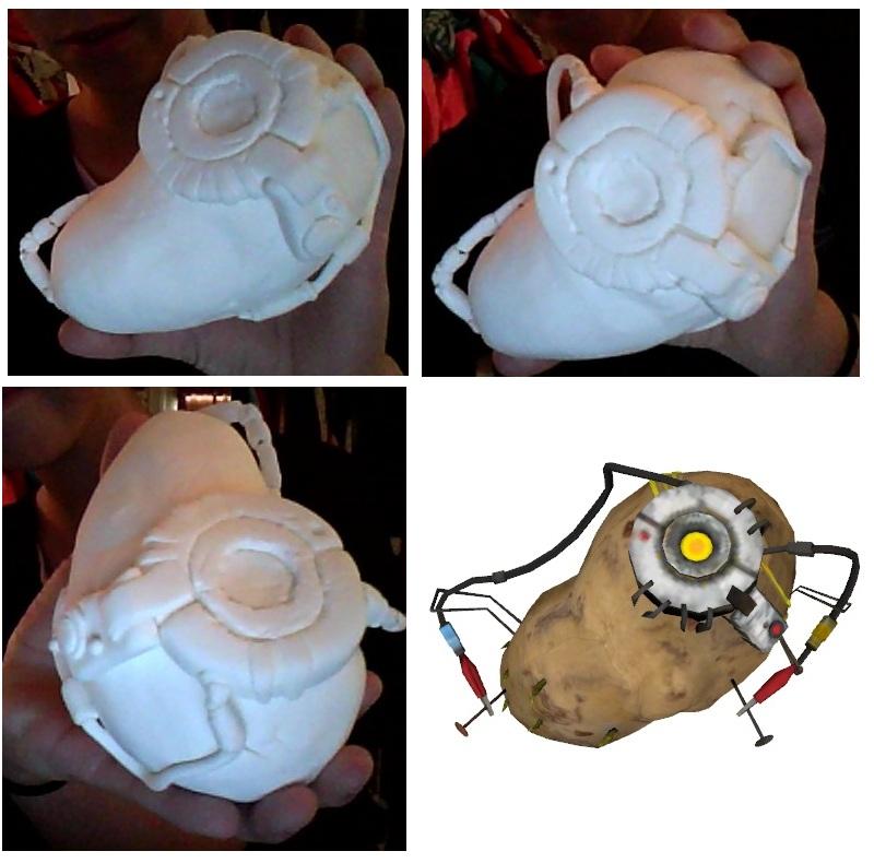 Portal Potato WIP by 4Icefire4