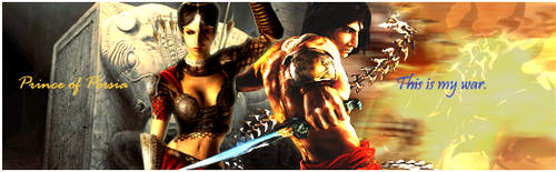 Prince of persia sig by aoshi1484