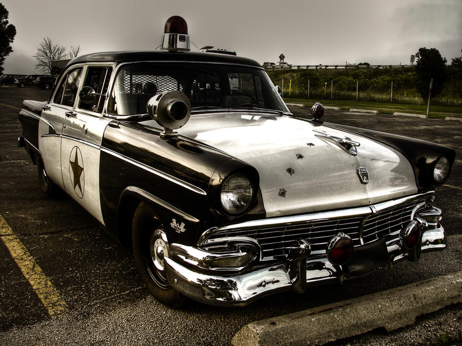 Vintage Police Car by K-RiM-Startimes2