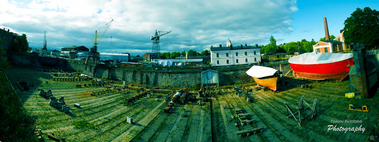 Suomenlinna Repair Yard by Unpropitious