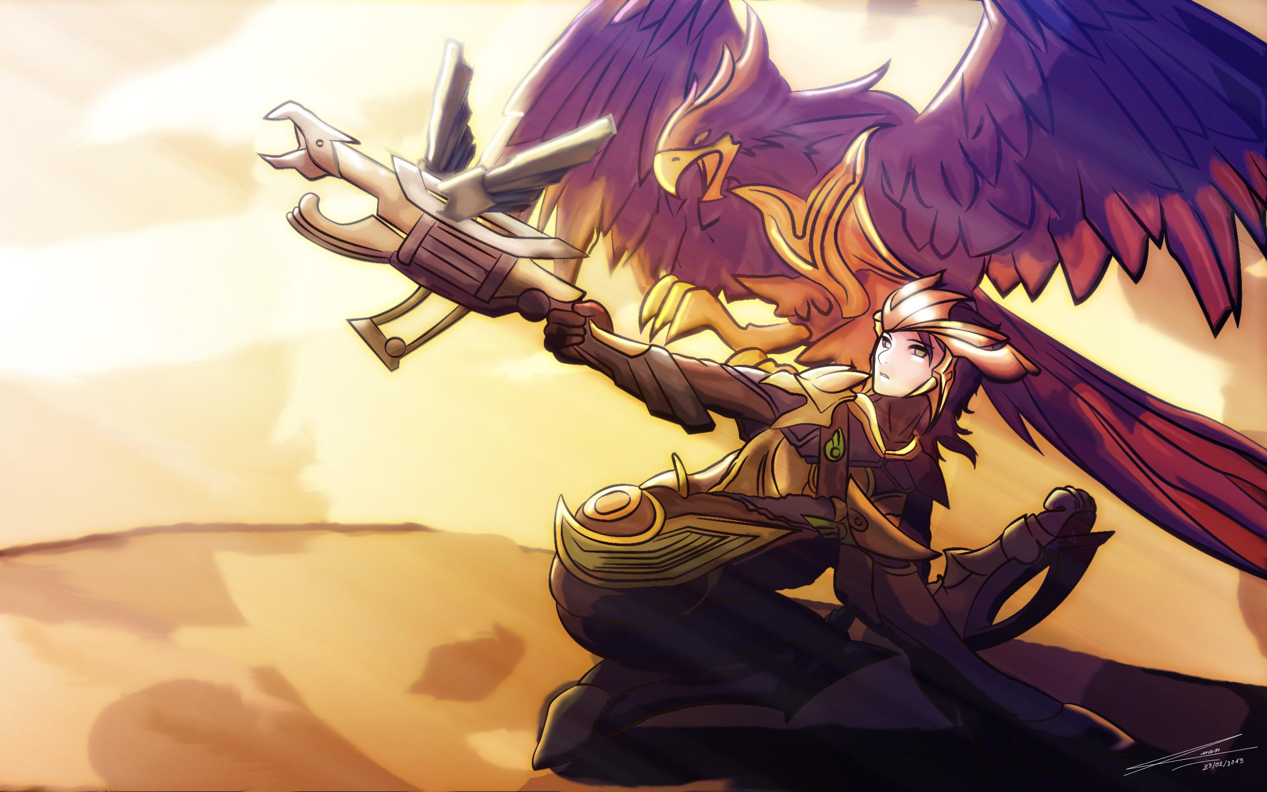 Personaje preferido y el porque  League_of_legends_quinn_by_tranquyenquan-d5vxwqb