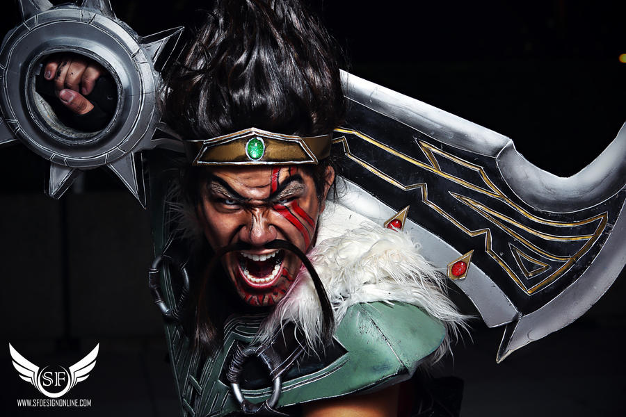 league of legends draven in your face by sfdesign21 on