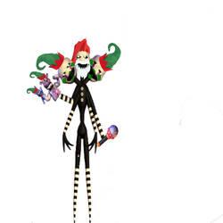 Christmas puppetmaster333 by fnafgamer12312