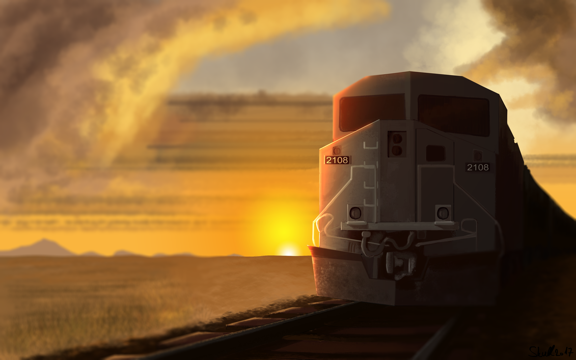 Train by Wardenblaze