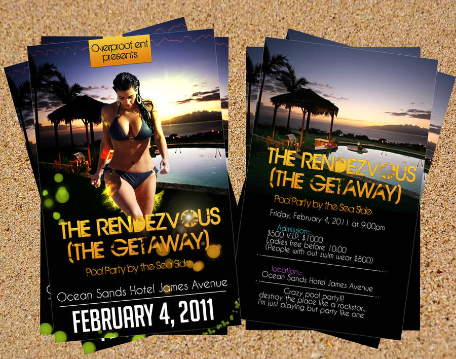 The rendezvous flyer by DeckxDezigns