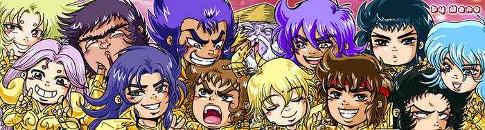 Chibi Gold Saints