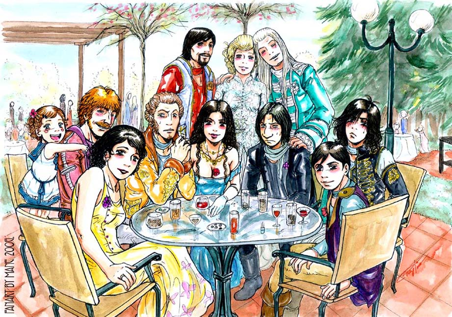 +Lucius and Narcissa Wedding+ by Manechan