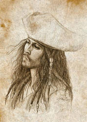 Jack Sparrow by Manechan