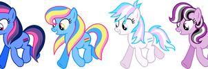 Pride Ponies by FilliVanilli