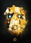 Psycho Mask Gold