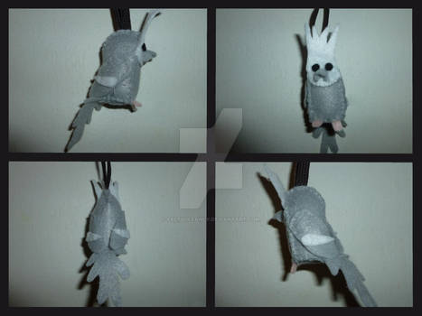 Whitefaced Cockatiel Ornament
