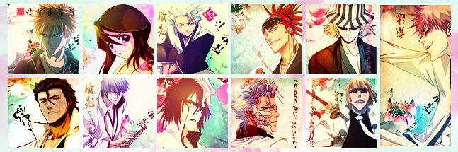 .:Bleach Icons:. by FalcoN-chan93