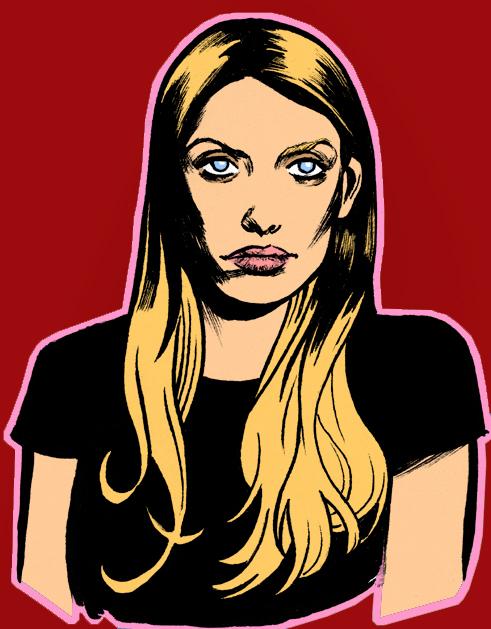 Buffy- Tara Study by SinaGrace