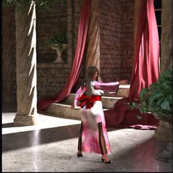 pretty girl in a kimono 3