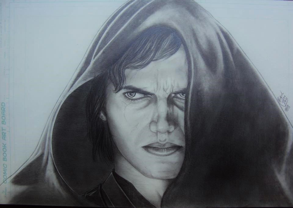 Devil Anakin Skywalker by RafaConte