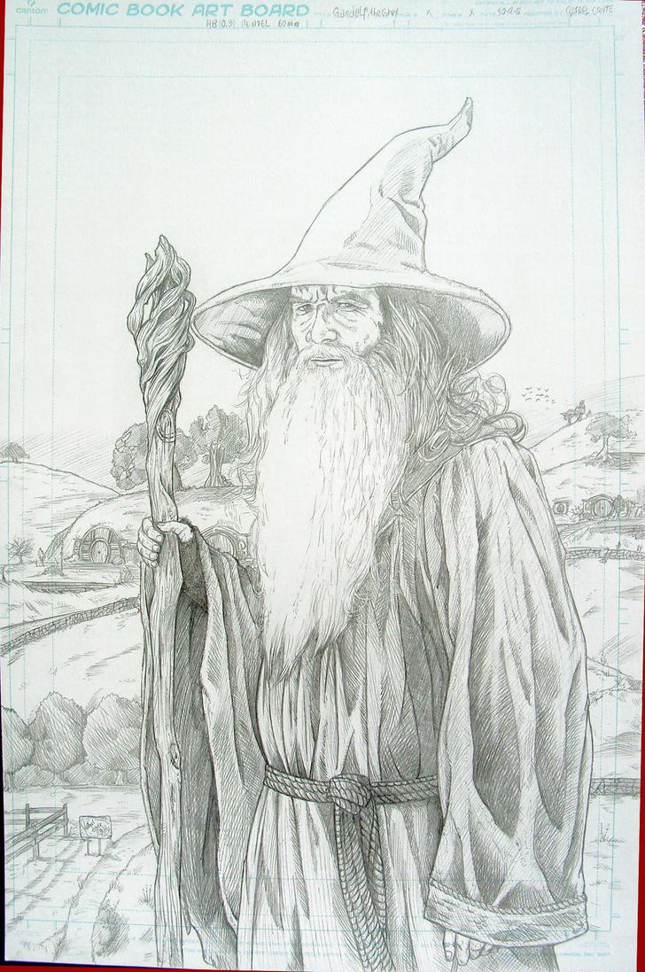 Gandalf, the Grey by RafaConte