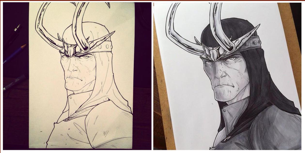 Loki by RafaConte