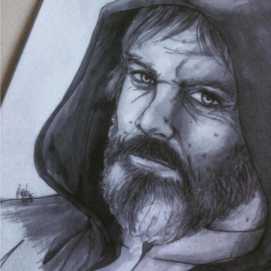 Old Luke Skywalker (SWVII) by RafaConte