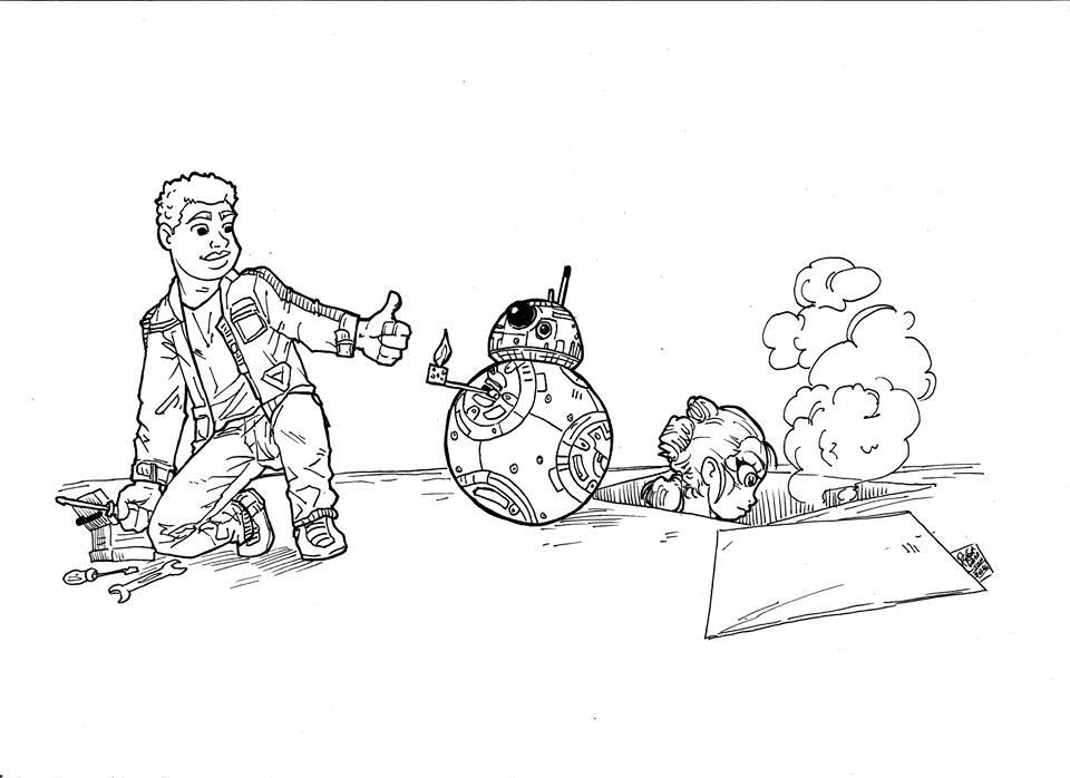 Finn and BB-8 like by RafaConte