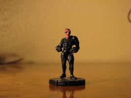 Agent Redeagle, custom figure by GalaxyZento