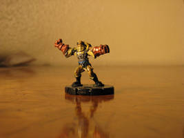 Fist of Allah custom figure by GalaxyZento