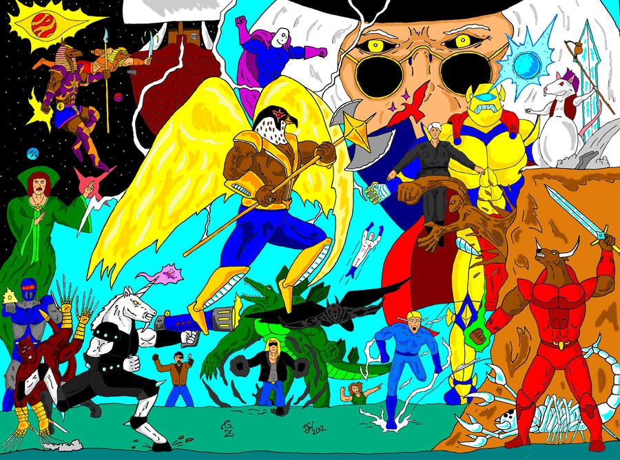 GZ Hero mash color by GalaxyZento