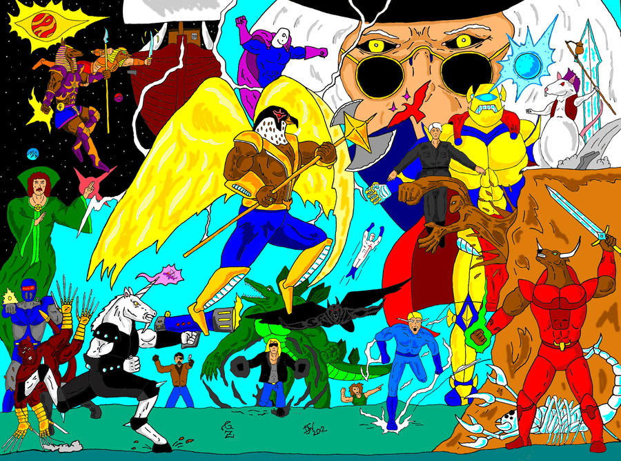 GZ Hero mash color