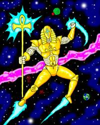 The Pharaoh Robot by GalaxyZento