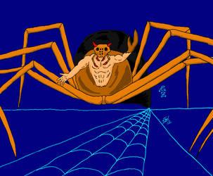 Sphidra, the Spider-god by GalaxyZento