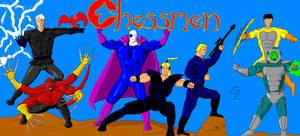 Chessmen full color