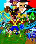 Galaxy Zento Super Collage