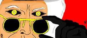 Maestro glares