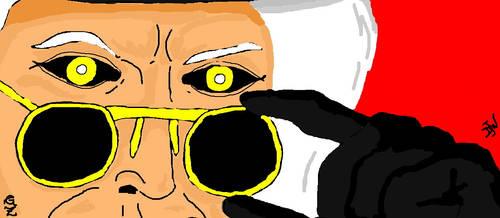 Maestro glares by GalaxyZento