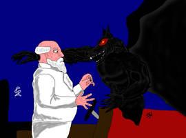 Nyhtwulf vs Prof Zombie by GalaxyZento