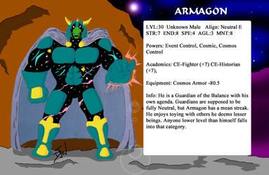 Armagon char stats by GalaxyZento