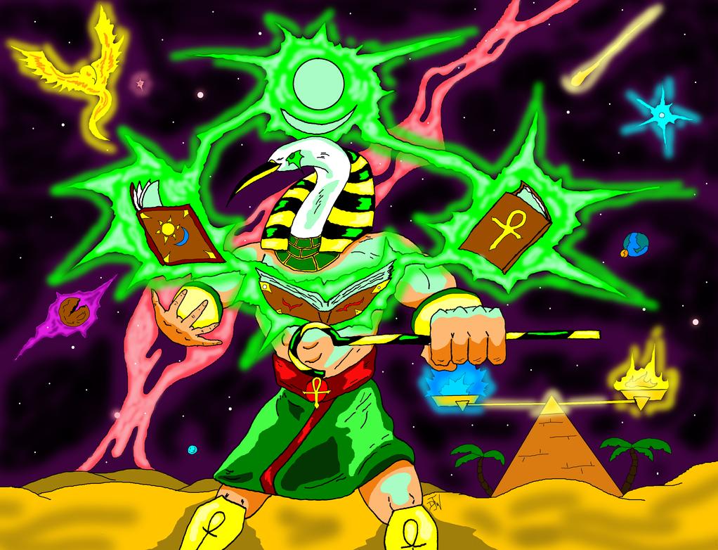 Thoth by GalaxyZento